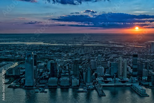 Poster New Jersey Sunset