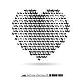 Heart. Halftone pattern effect. No gradient.