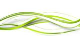 welle grün band banner hintergrund - 132917043