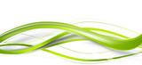 welle grün band banner hintergrund - 132917058