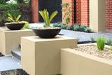 Modern front yard design ideas - 132923075