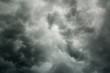 Cloudy stormy black and white dramatic sky