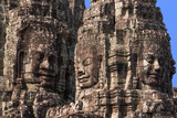 ancient of Prasat Bayon temple, Angkor Thom