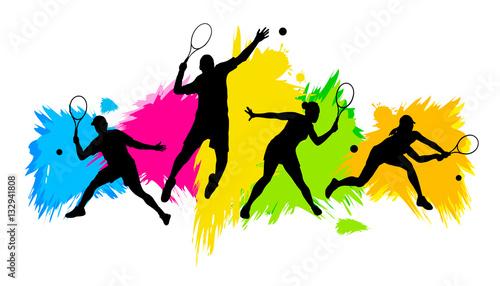 Fototapeta Tennis - 236