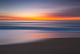 Abstract seascape motion blur