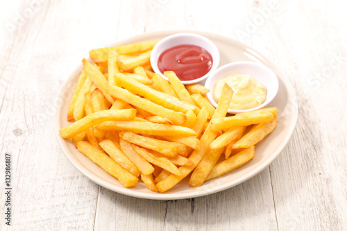Poster french fries