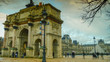 Arc de Triomphe du Carrousel, It is a triumphal arch that was to commemorate Napoleon's military victories, near Louvre