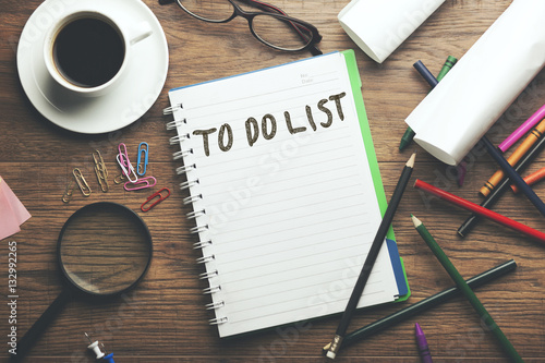 to do list text Poster