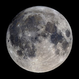 High detail 30 panel mosaic of the super full moon (October 2016) taken at 2.700mm focal length.