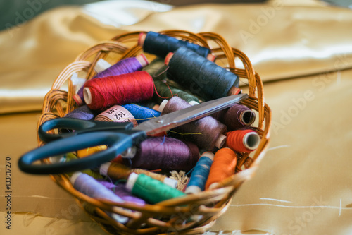 Poster Basket with colored