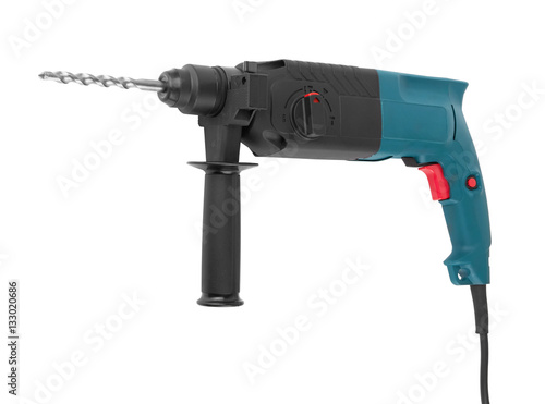 electric drill with handle Poster
