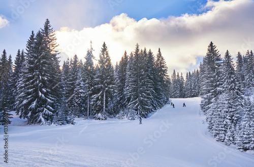 Papiers peints Nautique motorise mountain ski