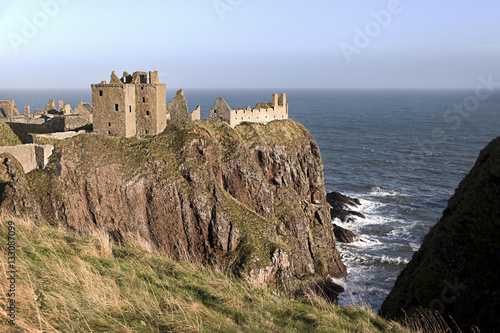Dunnottar Castle in Scotland near Stonehaven Canvas Print