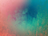 Pink and blue pastel painting abstract background