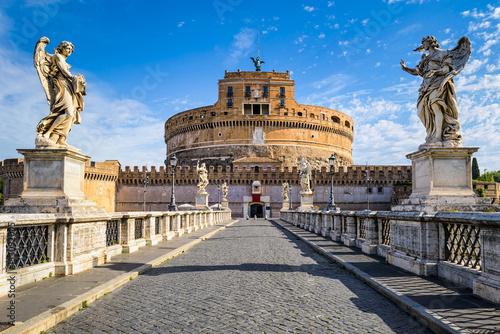 obraz PCV Saint Angel Castle, Rome, Italy