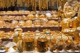 Golden jewelry in Dubai, UAE