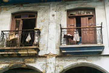 old street in downtown havana