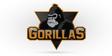 Gorilla logo for a sport team - 133124224