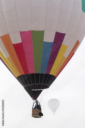 In de dag Ballon ascension of hot air balloons festival