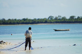 Cast Net Fishing - Zanzibar - Tanzania