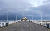 Sopot Pier (Molo) w mieście Sopot, Polska