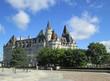 Chateau Laurier Hotel in Ottawa Ontario Canada