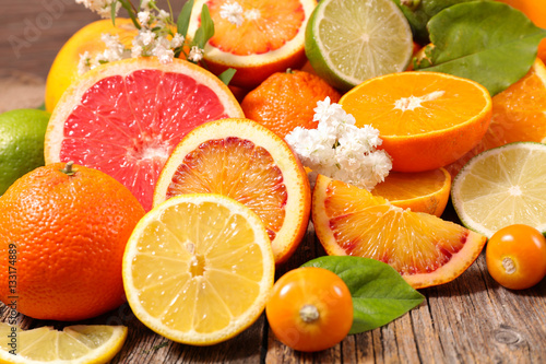 Poszter assorted fruits