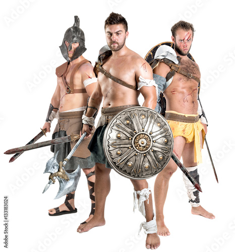Poster Gladiators/Barbarian warriors
