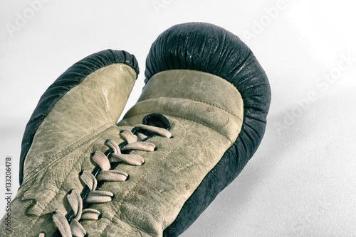 Zdjęcia Old boxing glove