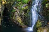Santa Leocadia waterfall, Mazaricos, Galicia (Spain)