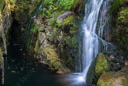 Santa Leocadia waterfall, Mazaricos, Galicia (Spain) - 133225204