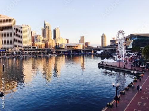 Poster Hafen in Sydney