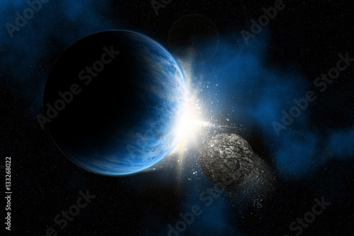 Fictional space background