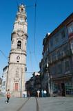 Porto, 27/03/2012: vista della Torre dos Clerigos, la Torre dei Chierici, una torre di pietra in stile barocco costruita tra il 1754 e il 1763