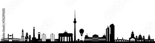 Fototapeta Skyline Berlin