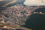 Khanty-Mansiysk city, top view