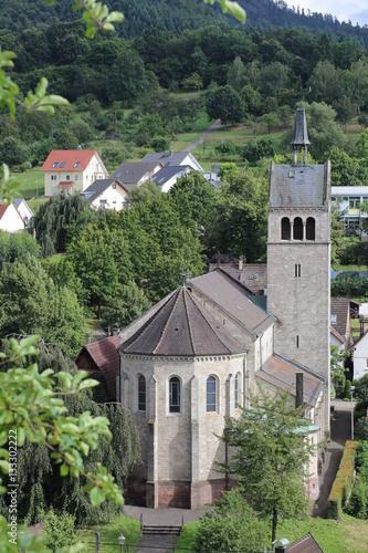 Church of St. Anna in Sulzbach, Gaggenau, Germany Poster