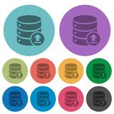 Restore database color darker flat icons