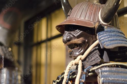 Poster samurai armor