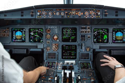 Im cockpit Poster