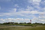leuchtturm auf der insel pellworm - 133321261