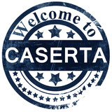 caserta stamp on white background