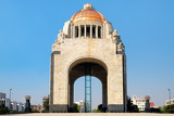 The Monumento to the Revolution in Mexico City