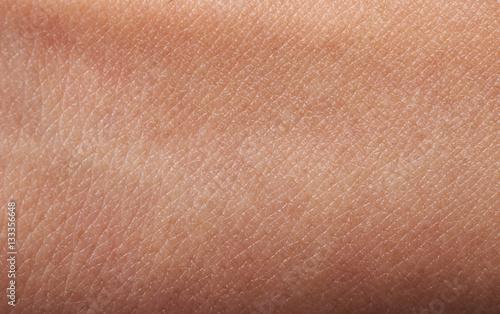 Płaska ludzka skóra
