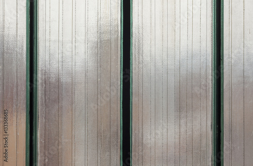 Poster Armored Glass Texture