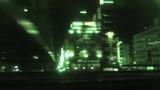 夜の車窓風景(赤外線撮影)