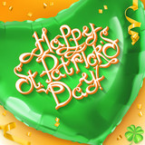 Feast of Saint Patrick 3d vector background