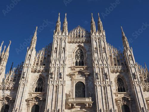 Papiers peints Milan Duomo (meaning Cathedral) in Milan