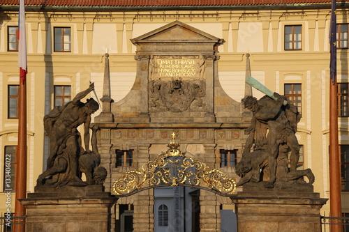 Poster Goldenes Prag