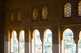 Windows of Mexuar Hall at Nasrid Palaces, Alhambra
